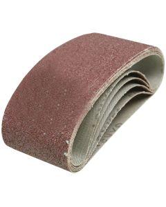 Silverline Sanding Belts 40 Grit 457x75mm 5pk