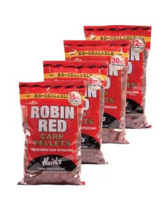 Dynamite Baits Robin Red Carp Pellets Pre-Drilled 900g