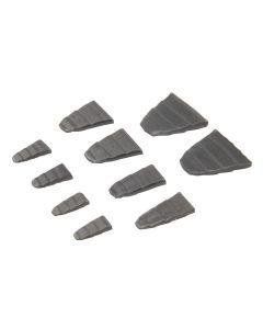 Silverline Hammer Wedge Set 10pce