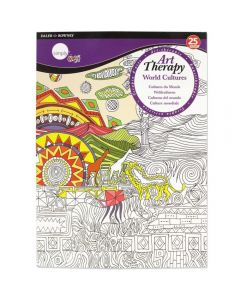 Daler Rowney Simply Art Therapy Book A4 World Cultures