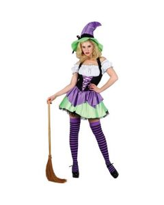 Wicked Costumes Female Naughty Witch Small