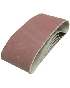 Silverline Sanding Belts 40 Grit 610x100mm 5pk