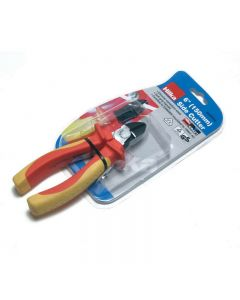 """Hilka VDE Side Cutting Pliers 6"""""""