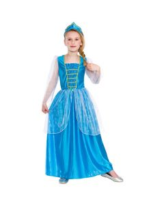 Wicked Costumes Girls Ice Blue Princess