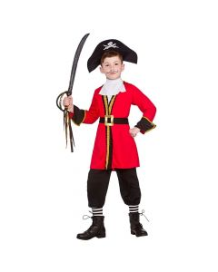 Wicked Costumes Boys Pirate Captain