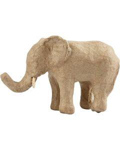 Creative Company Paper Mache Wild Life Animals Elephant