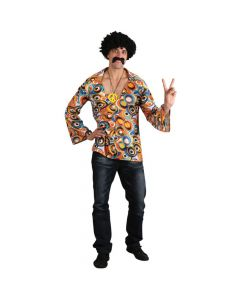 Wicked Costumes Groovy Hippie Shirt