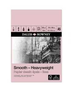Daler Rowney Smooth Heavyweight Pad A5 220gsm