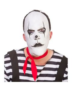 Wicked Costumes Freaky Mime Artist Latex Mask