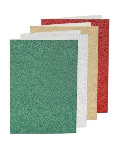 Creative Company Glitter Card & Envelopes 4pk