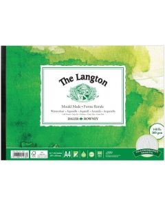 Daler Rowney The Langton Watercolour Cold Pressed Pad A4 300gsm