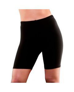 Wicked Costumes 80's Black Cycling Shorts