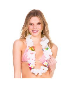 Wicked Costumes Multicoloured & White Orchid Lei