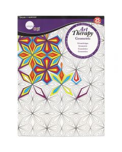 Daler Rowney Simply Art Therapy Book A4 Geometric
