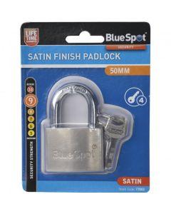 BlueSpot Satin Double Locking Padlock 50mm