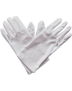 Wicked Costumes White Gents Gloves