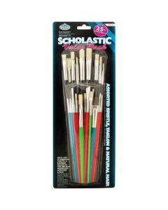 Royal & Langnickel Scholastic Brush Value Pack 25pk