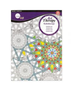 Daler Rowney Simply Art Therapy Book A4 Kaliedoscope