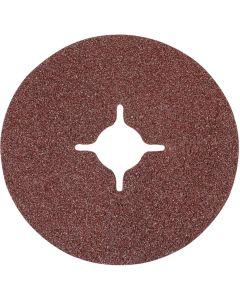 Silverline Fibre Discs 60 Grit 115mm 10pk