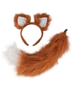 Wicked Costumes Deluxe Fox Ears & Tail