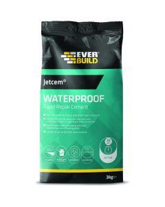 Everbuild Jetcem Waterproofing Rapid Setting Cement 3kg
