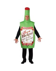 Wicked Costumes Unisex Funny Beer Bottle One Size