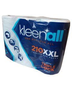 Kleenall Roll 210XXL 3Pk