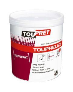 Toupret Touprelex Fast Drying Lightweight Exterior Filler 1kg