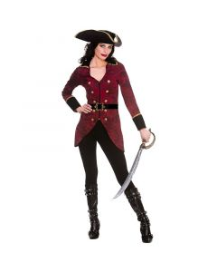 Wicked Costumes Female Deluxe Pirate Captain