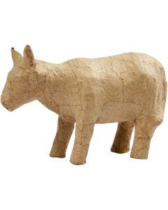 Creative Company Paper Mache Small Animals Cow