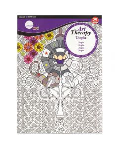 Daler Rowney Simply Art Therapy Book A4 Utopia