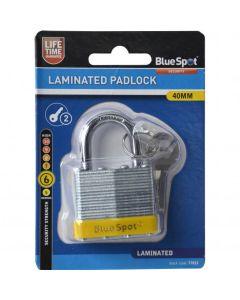 BlueSpot Laminated Padlock Double Locking 40mm