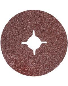 Silverline Fibre Discs 36 Grit 115mm 10pk