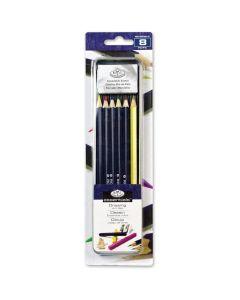 Royal & Langnickel Essentials Colour Pencil Mini Tin Art Set