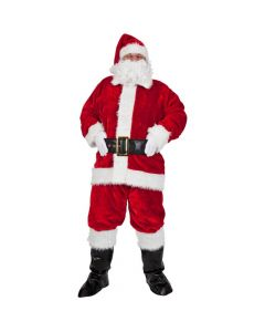 Wicked Costumes Male Regal Plush Professional 8pce Santa Outfit