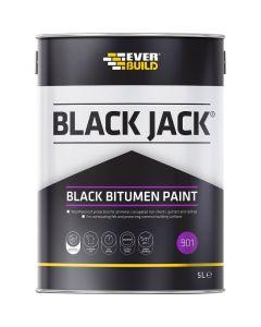 Everbuild 901 Bitumen Paint 5L