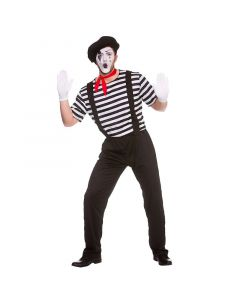 Wicked Costumes Male Mime Artist