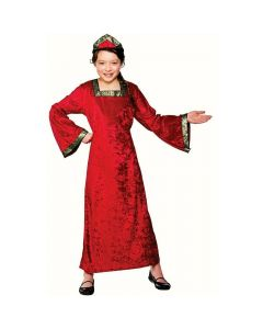Wicked Costumes Girls Tudor Princess Red