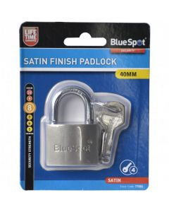 BlueSpot Satin Double Locking Padlock 40mm