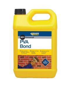 Everbuild 501 PVA Bond Adhesive 5L