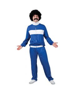Wicked Costumes Male 80's Retro Trackie