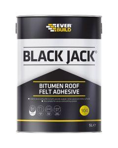 Everbuild 904 Bitumen Roof Felt Adhesive 5L
