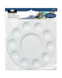Royal & Langnickel Plastic 10 Well Round Paint Palette