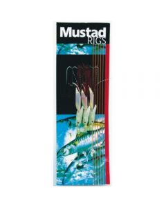 Mustad Luminous Red Hokkai Trace Hook Size 4/0