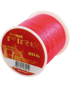 Seatech Fire Monofilament Fire Red