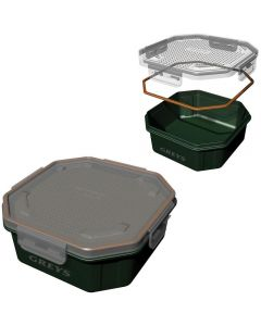 Greys Klip-Lok Bait Box Perforated Lid