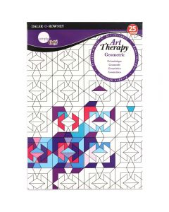 Daler Rowney Simply Art Therapy Book A5 Geometric