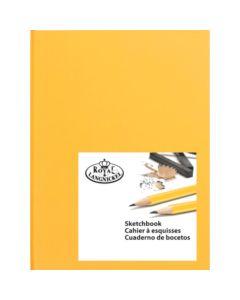 Royal & Langnickel Hardback Sketchbook A5 Yellow