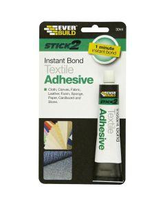 Everbuild Textile Adhesive 30ml