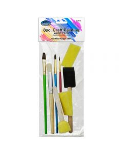 Royal & Langnickel Art & Craft's Brushes Value Pack 8pk